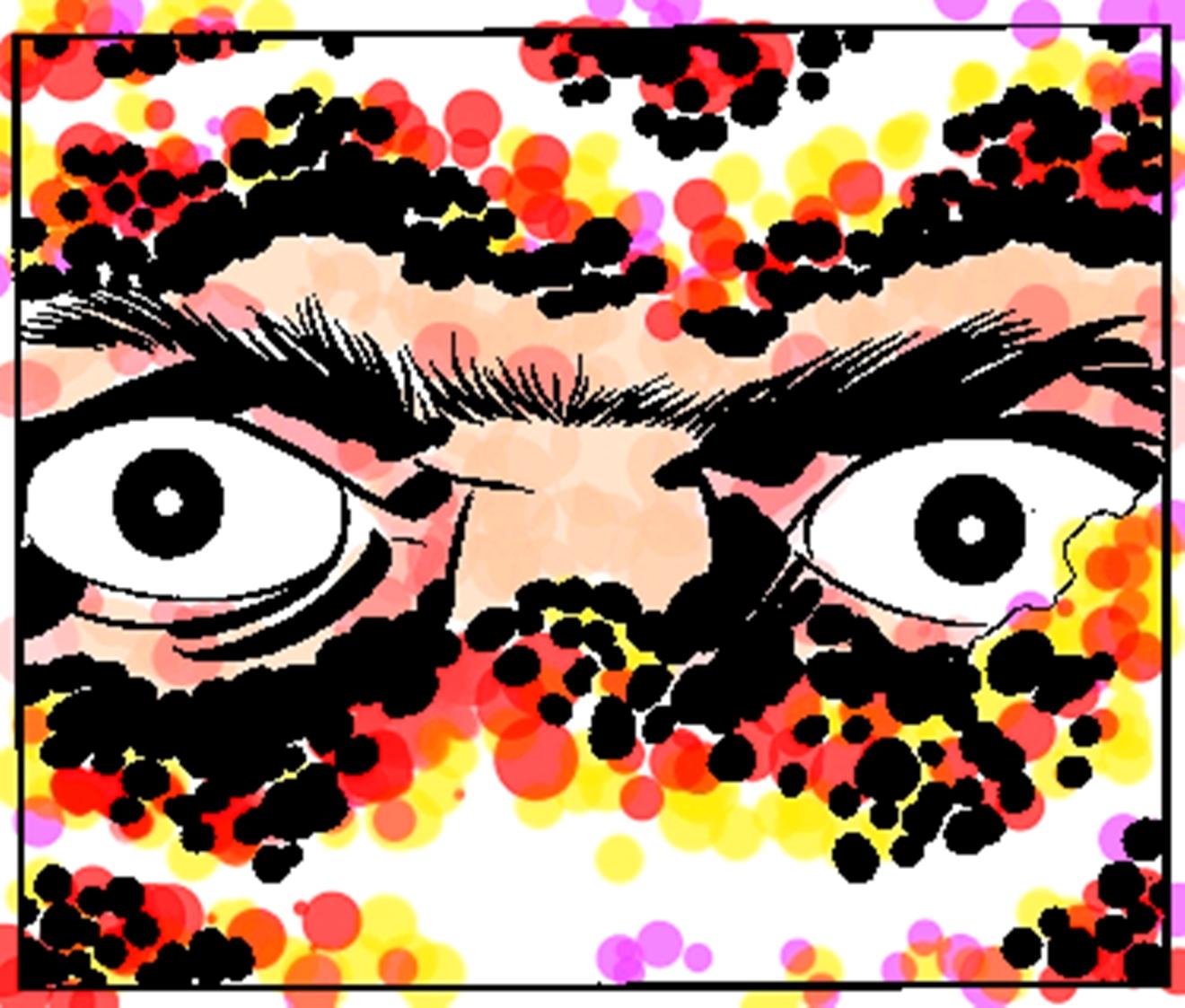 kirby eyes fan colors