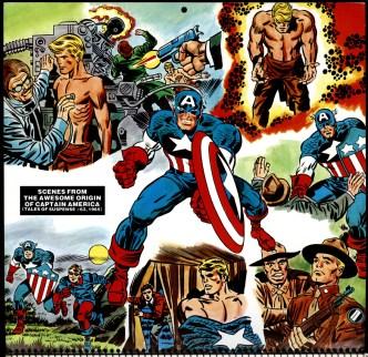 1977 Marvel Memory Album, Captain America