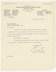 1972 - Charles Brainard Coney Island Letter
