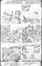 1968 May – When Wakes The Sleeper page 6 pencil art photocopy