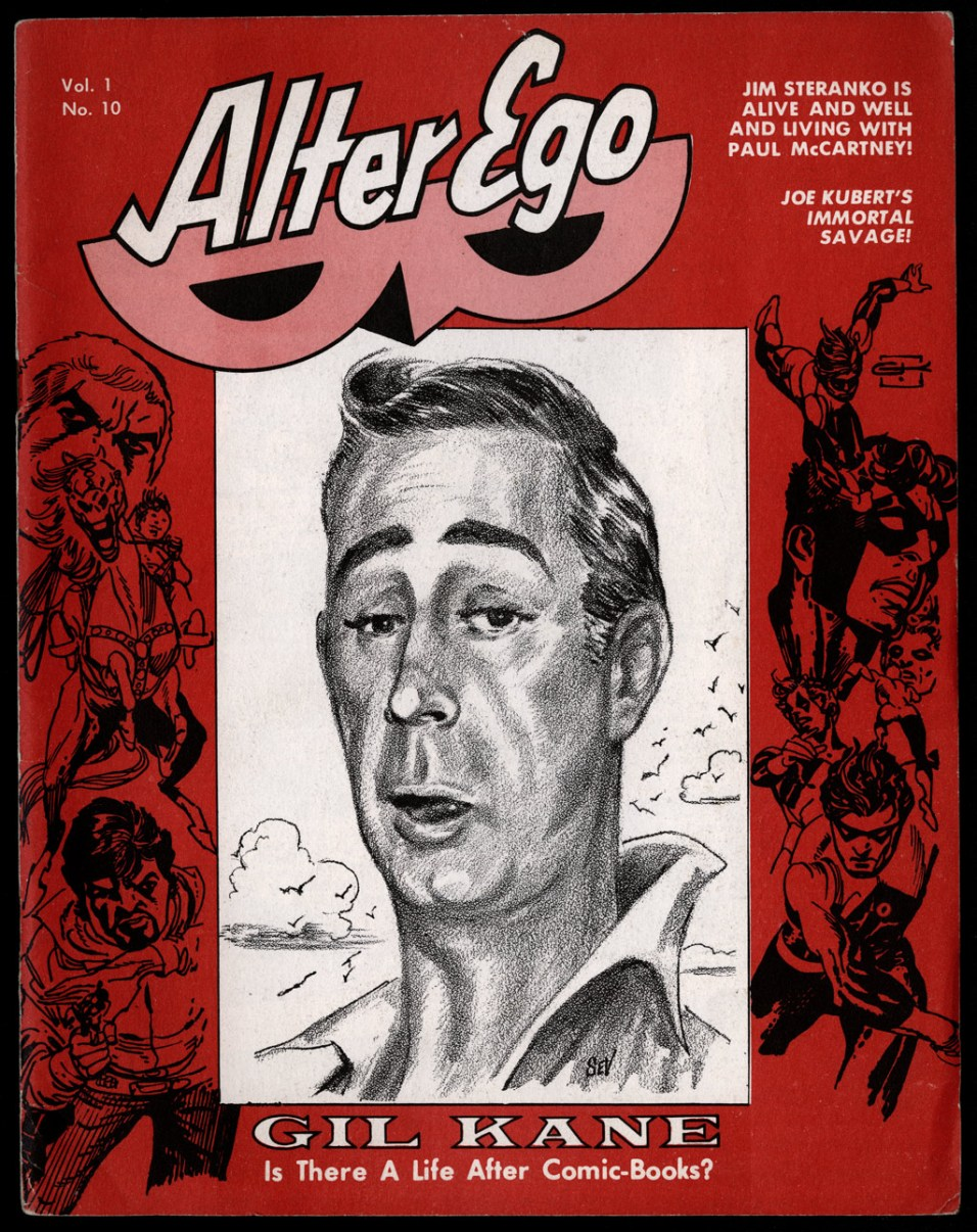 1969 - Alter Ego V1N10 cover