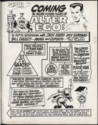 1969 - Alter Ego V1N10 inside back cover