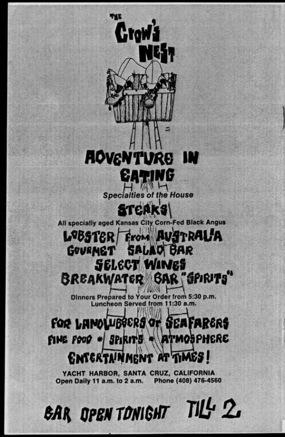 1969 - Julius Caesar program back cover photocopy