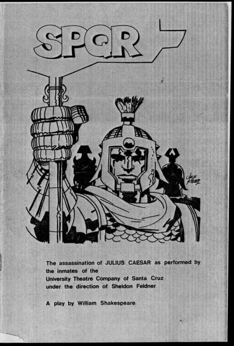 1969 - Julius Caesar program cover photocopy
