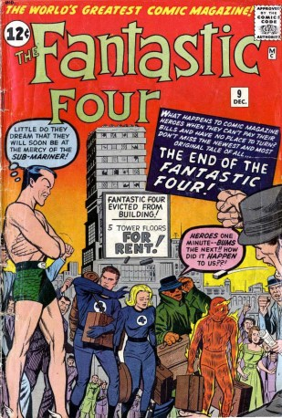 1962 - The End Of The Fantastic Four! cover
