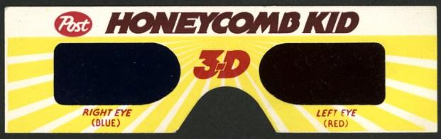 1984 - Honeycomb 3-D Glasses