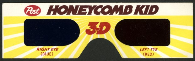 1984 - Honeycomb 3-D Glasses