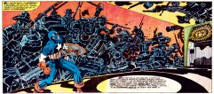 1976 - Captain America visits the Cyclorama