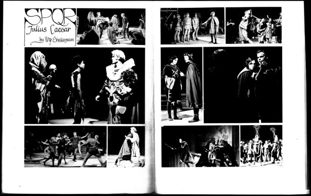 1969 - UCSC Markings SPQR Julius Caesar spread photocopy