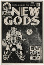 1970 - The New Gods alternate cover stat