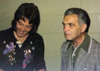1976 - Paul McCartney and Jack Kirby