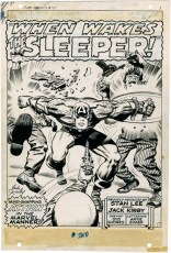 1968 May - When Wakes The Sleeper page 1 original art