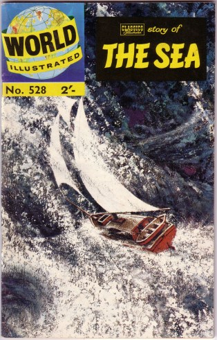 "1961 - World Illustrated 528 ""The Sea"" cover"