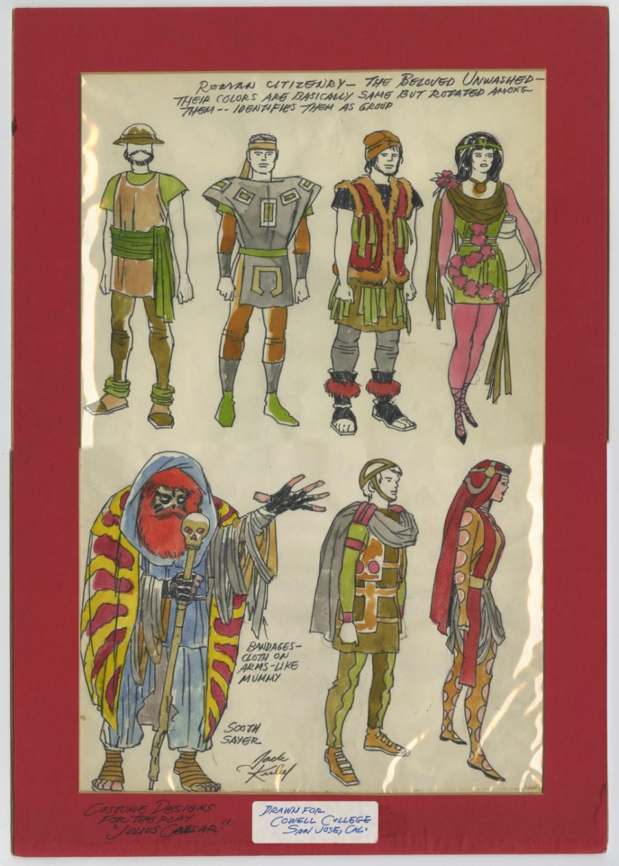 1969 - Citizenry matted original art