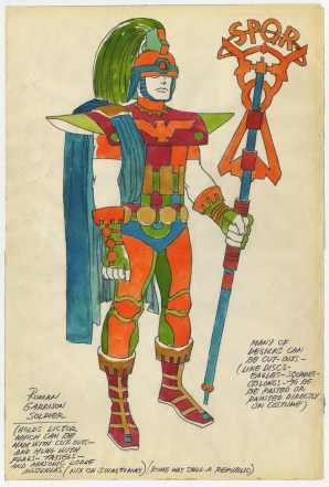 1969 - Roman Garrison Soldier original art
