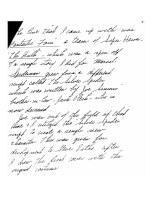Handwritten notes signed by Jack Kirby - page 2