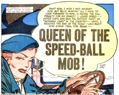 9 - Queen Of The Speed-ball Mob