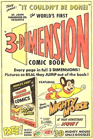 12 Mighty 3-D ad