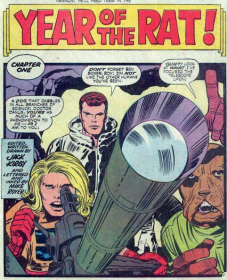 21 - Kamandi Rat splash