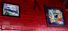 2011 - Kirby Enthusiasm Maxwells, Hoboken, NJ cafe center wall