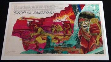 2010 - Stop the Panzers! postcard