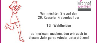 Kirchhof w o m a n unterstützt der Frauenlauf 2020
