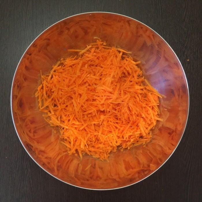 Морковные капкейки