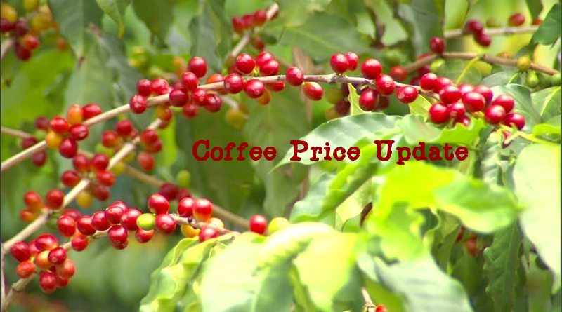 Coffee Prices (Karnataka) on 10-12-2019