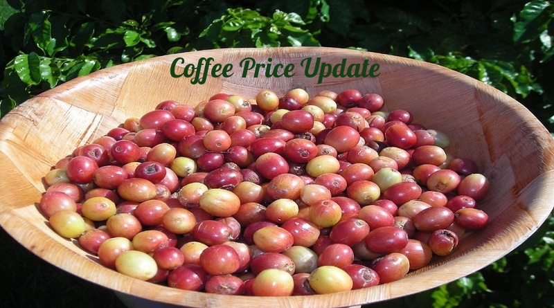 Coffee Prices (Karnataka) on 12-04-2019