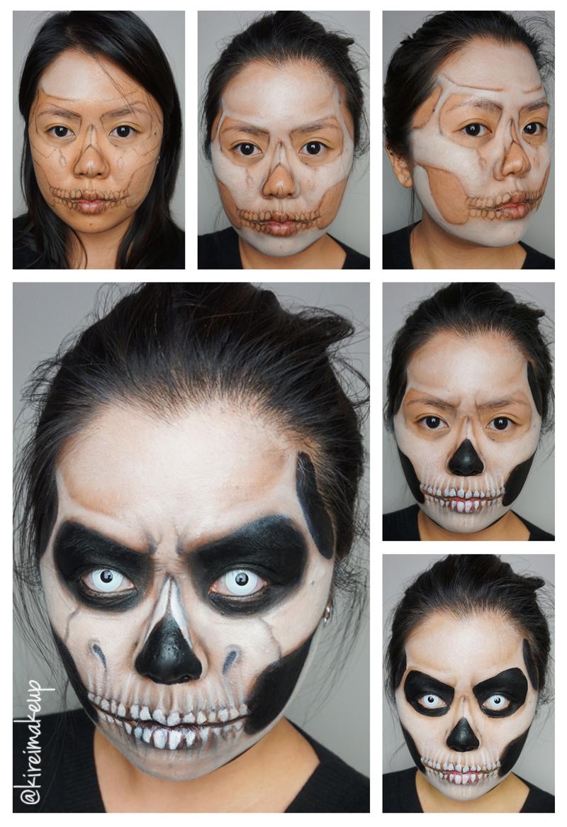 Easy Grim Reaper Makeup : reaper, makeup, Reaper, Halloween, Makeup, Kirei