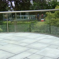 Balcony Systems' self-cleaning glass balustrade keeps canal views