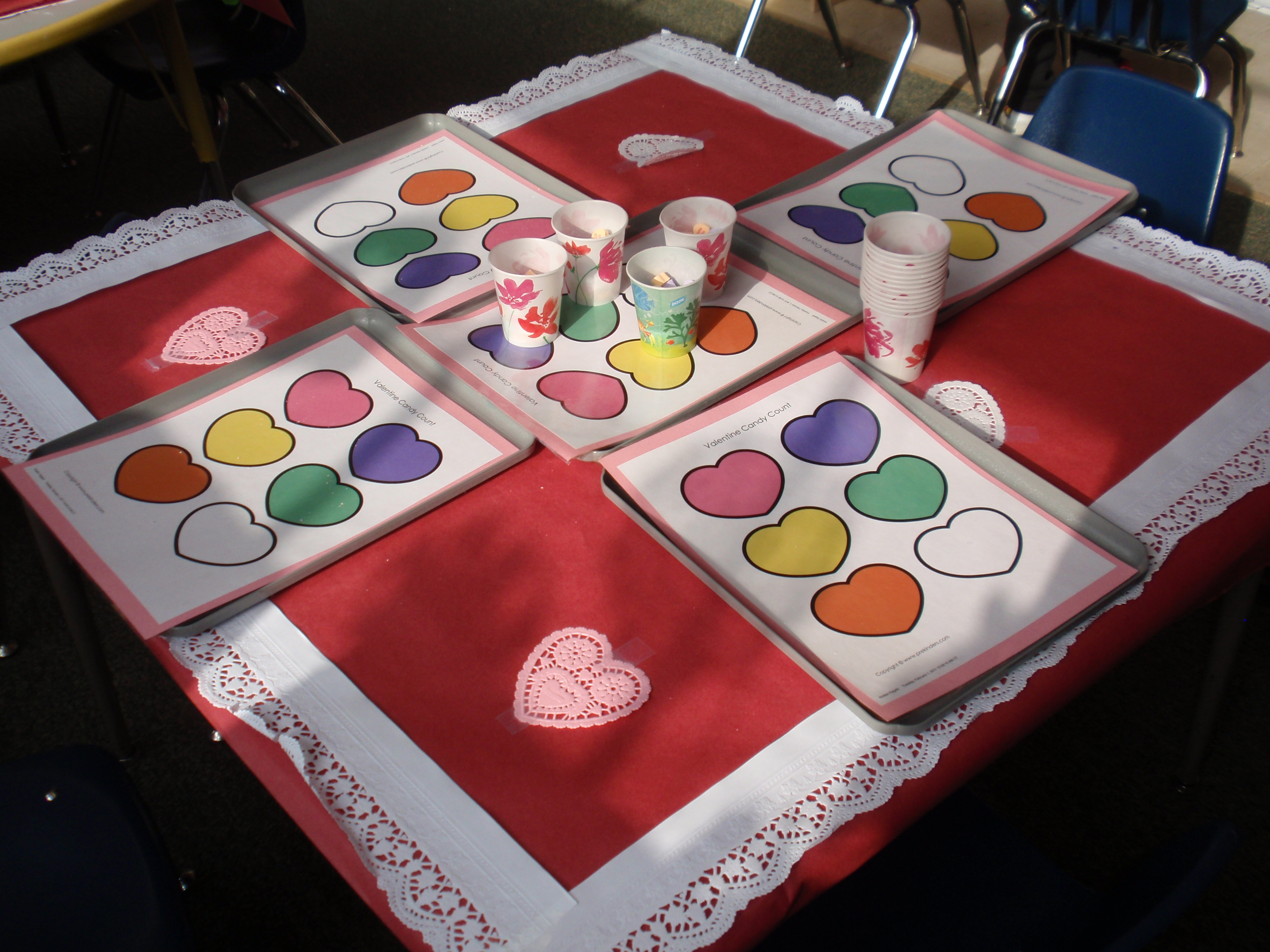 Valentine S Day Party In Preschool