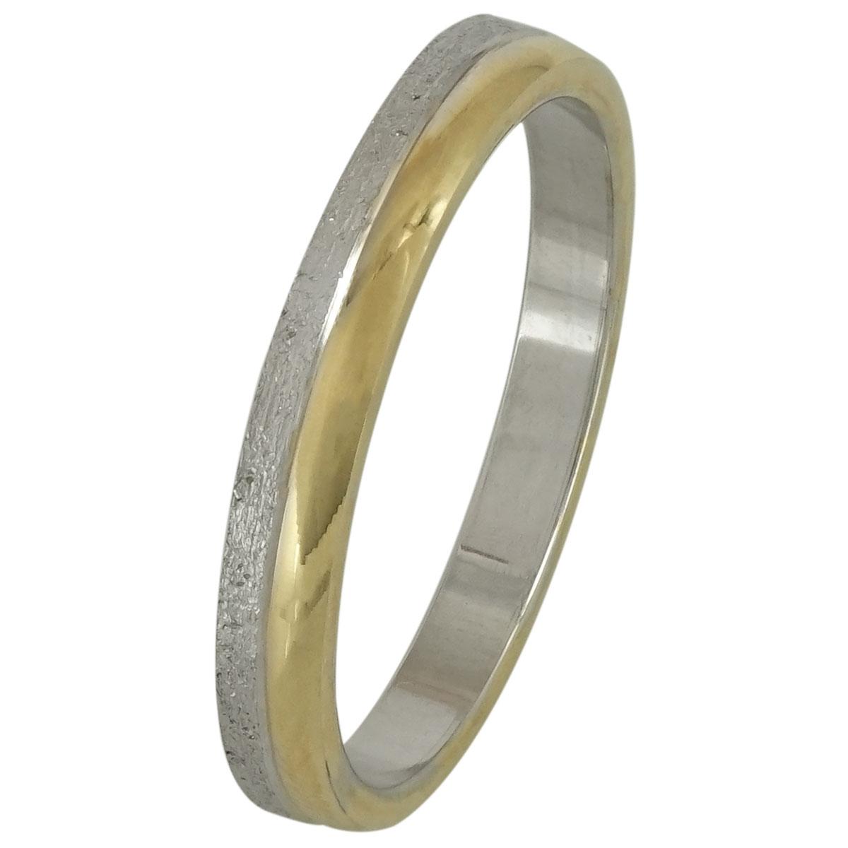 Bicolor Wedding Ring