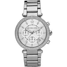 MICHAEL KORS Parker Crystals Stainless Steel Chronograph MK5353
