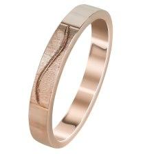 Ροζ Χρυσή Βέρα Γάμου WR301R