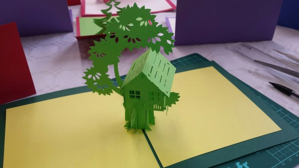 Patron Love Paper Kirigami