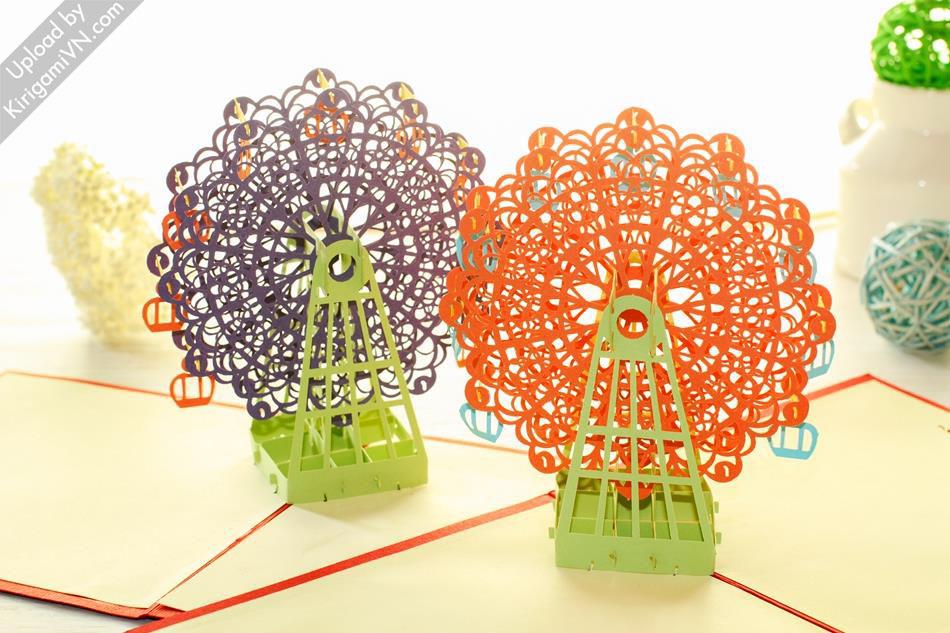 Ferris Wheel Pattern preview KirigamiVN