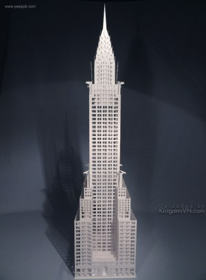 The Chrysler Building preview kirigamivn 2