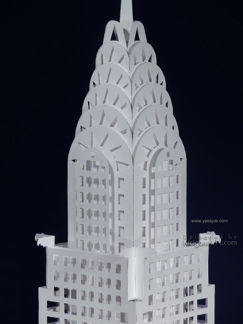 The Chrysler Building preview kirigamivn 3