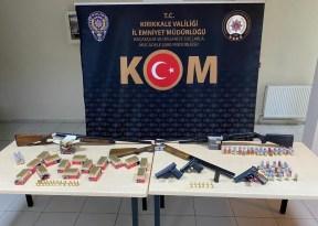 Kırıkkale'de silah kaçakçılığı operasyonu: 3 gözaltı