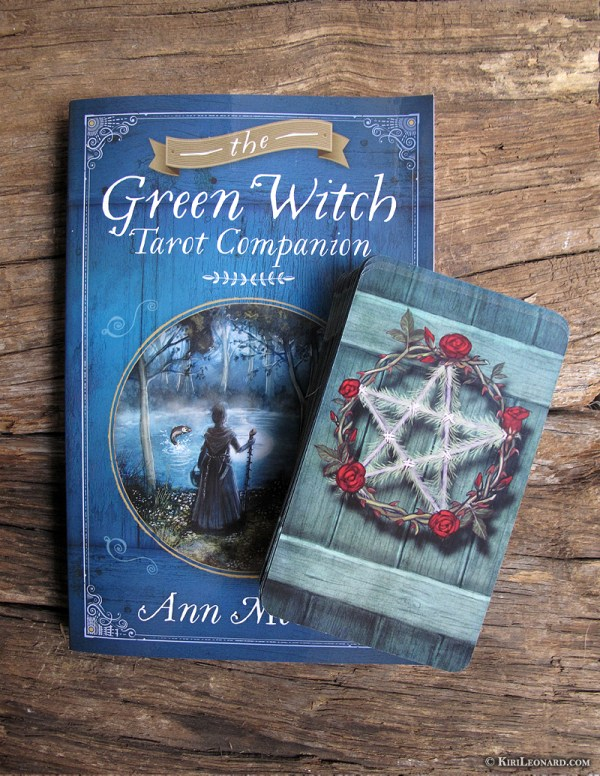 Green Witch Tarot book and deck.