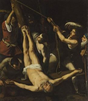 Приписывается Лионелло Спада (1576 – 1622). Мученичество апостола Петра.