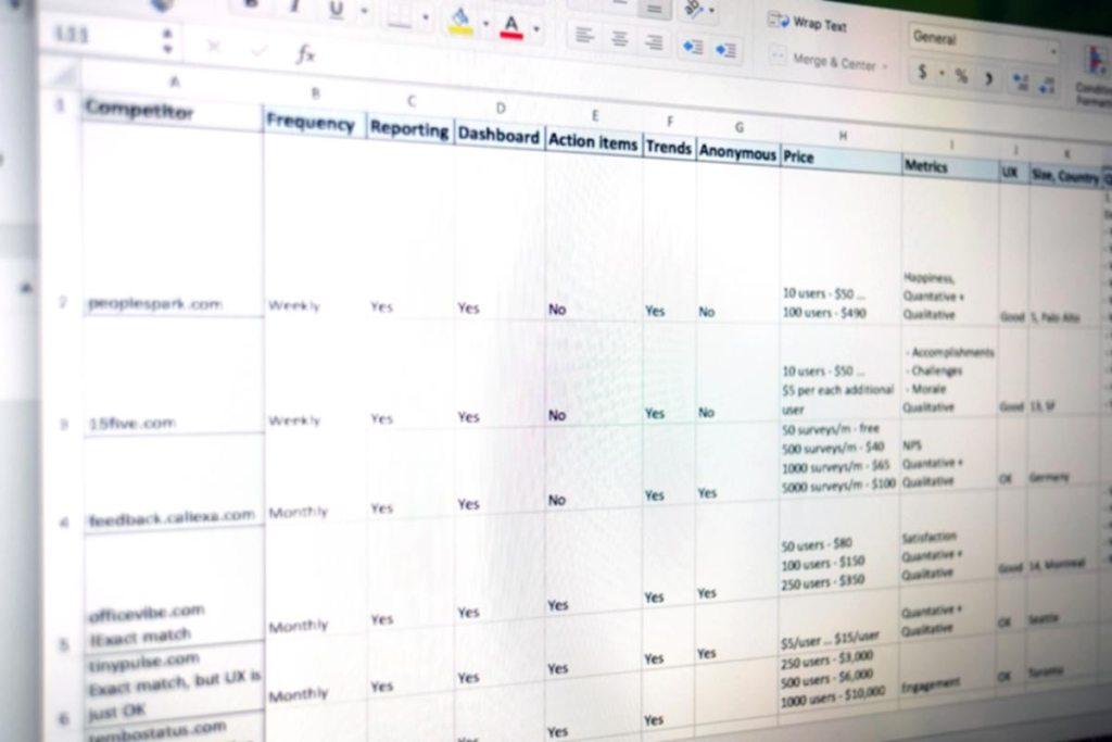 Team Voice Case Study - Competitor Analysis