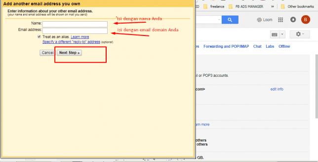 cara membuat email gmail dengan nama domain sendiri
