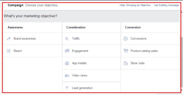 10 Objective Facebook Ads Terbaru 2017