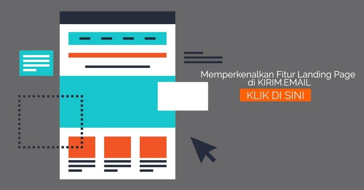 memperkenalkan fitur landing page di kirim emailFitur Landing Page Builder Dari KIRIMEMAIL 348579 #1