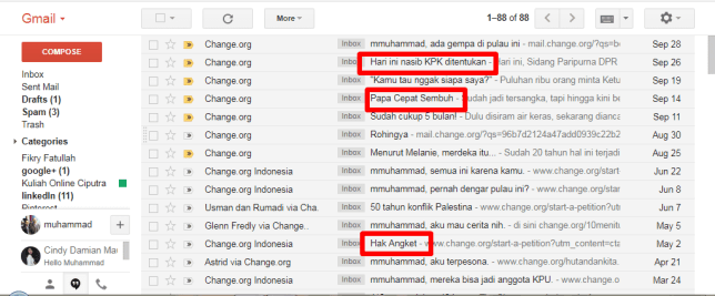 pola ke-5 dari 6 paola subject email change org