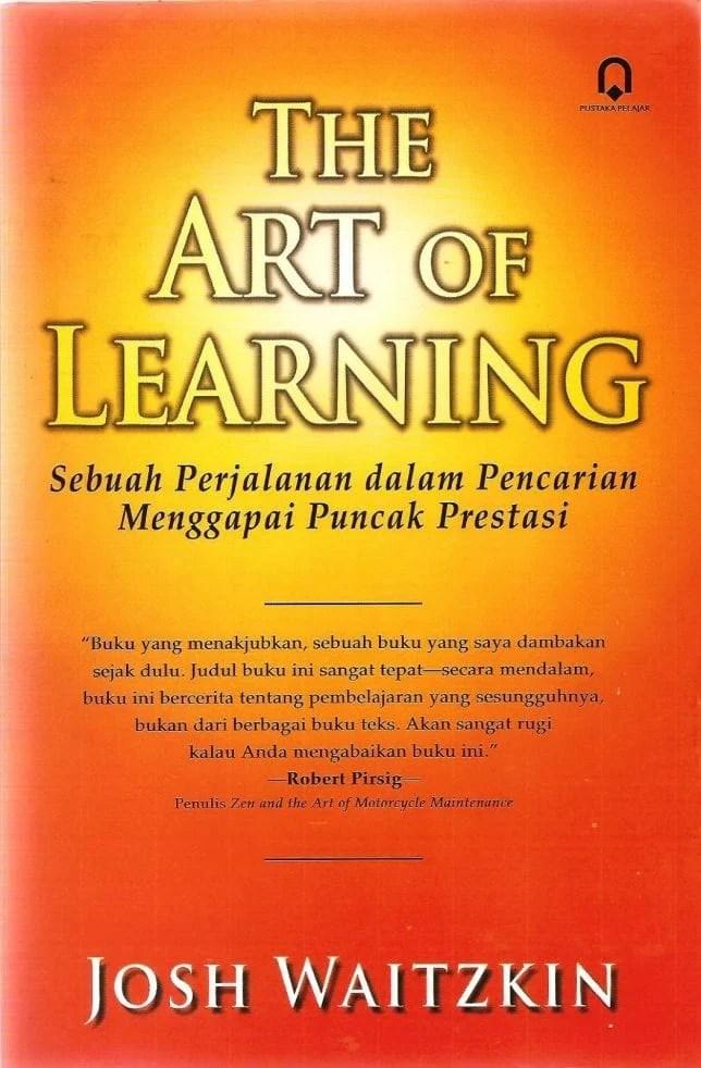 buku the art of learning - Josh Waitzkin
