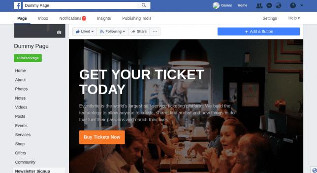 contoh landing page dengan facebook fanpage - tutorial list building : cara membangun email list dengan facebook fanpage