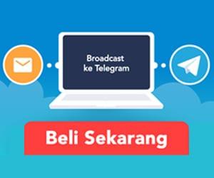 fitur broadcast ke telegram